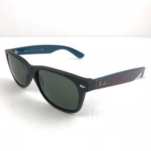 RAY-BAN sunglasses RB2132 new wayfarer 6182 Black